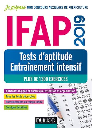Téléchargez le livre :  IFAP 2019 - Tests d'aptitude - Entraînement intensif