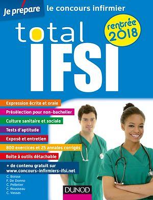 Téléchargez le livre :  Total IFSI rentrée 2018 - Concours Infirmier