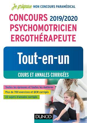 Téléchargez le livre :  Concours 2019/2020 Psychomotricien Ergothérapeute