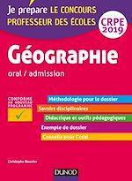 Télécharger le livre :  Géographie - Professeur des écoles - oral / admission - CRPE 2019
