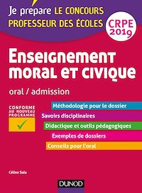 Enseignement moral et civique - Oral, admission - CRPE 2019