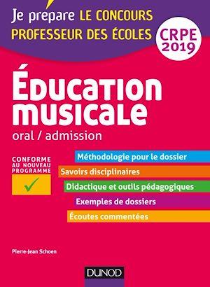 Téléchargez le livre :  Education musicale - Oral / admission - CRPE 2019