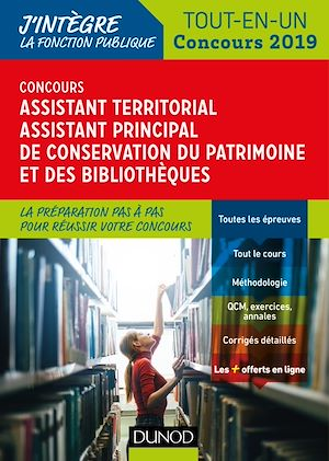 Téléchargez le livre :  Concours Assistant territorial Assistant principal de conservation du patrimoine