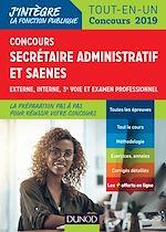 Télécharger le livre :  Concours Secrétaire administratif et SAENES