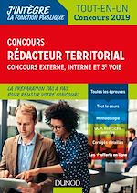 Télécharger le livre :  Concours Rédacteur territorial. Externe, interne et 3e voie.