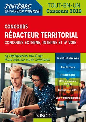 Téléchargez le livre :  Concours Rédacteur territorial. Externe, interne et 3e voie.