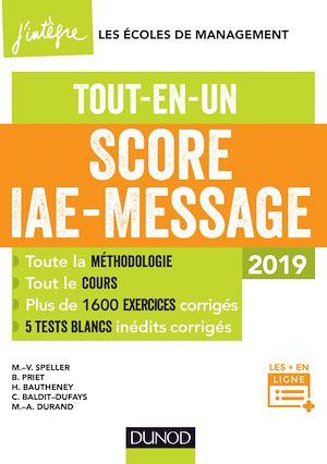 Téléchargez le livre :  Score IAE-Message - 2019