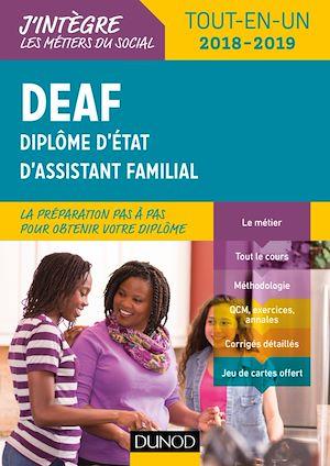 Téléchargez le livre :  DEAF - Tout-en-un 2018-2019