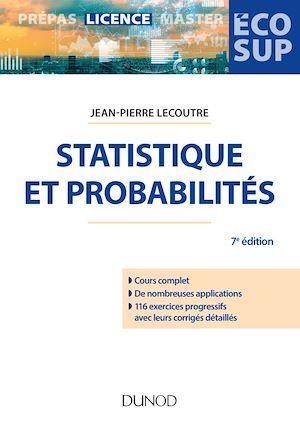 Téléchargez le livre :  Statistique et probabilités - 7e éd.
