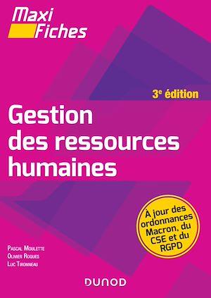 Téléchargez le livre :  Maxi Fiches - Gestion des ressources humaines - 3e éd.