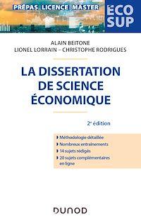 La dissertation de science économique - 2e éd.