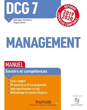 Téléchargez le livre :  DCG 7 - Management - Manuel