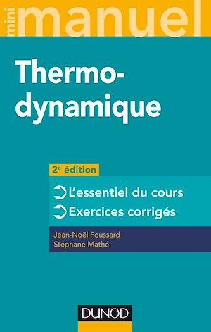 Téléchargez le livre :  Mini manuel - Thermodynamique - 2e éd.