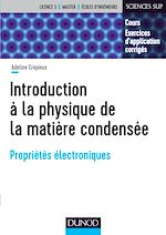 Télécharger le livre :  Introduction à la physique de la matière condensée