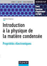 Introduction à la physique de la matière condensée
