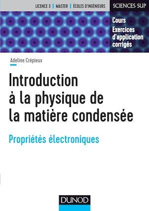 Téléchargez le livre :  Introduction à la physique de la matière condensée