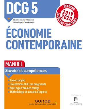 Téléchargez le livre :  DCG 5 Economie contemporaine - Manuel