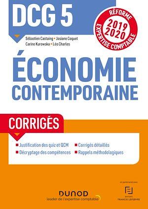 Téléchargez le livre :  DCG 5 Economie contemporaine - Corrigés