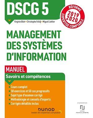 Téléchargez le livre :  DSCG 5 Management des systèmes d'information - Manuel