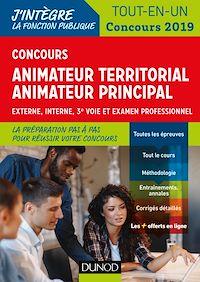 Concours Animateur territorial, animateur principal - Concours 2019