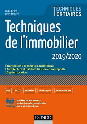 Téléchargez le livre :  Techniques de l'immobilier 2019/2020