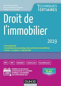 Télécharger le livre : Droit de l'immobilier 2019