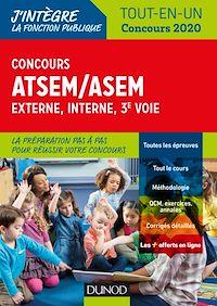 Concours ATSEM/ASEM - Externe, interne, 3e voie - Tout-en-un - Concours 2020