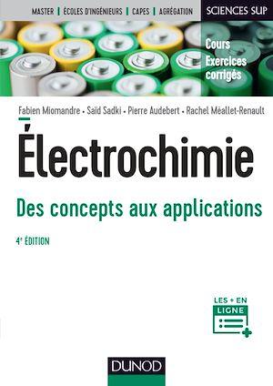 Téléchargez le livre :  Électrochimie - 4e éd.