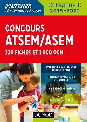 Téléchargez le livre :  Concours ATSEM/ASEM 2019/2020