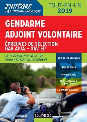 Téléchargez le livre :  Gendarme adjoint volontaire - 2019