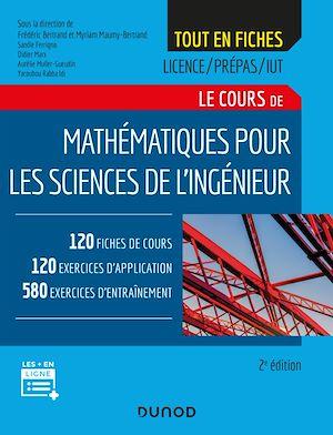 Téléchargez le livre :  Mathématiques pour les sciences de l'ingénieur - 2e éd.