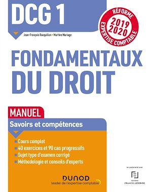 Téléchargez le livre :  DCG 1 Fondamentaux du droit - Manuel