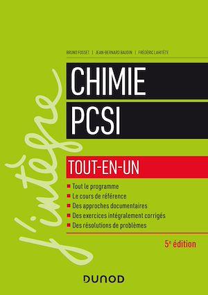 Téléchargez le livre :  Chimie tout-en-un PCSI - 5e éd.