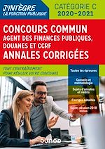 Télécharger le livre :  Concours Commun Agent des Finances Publiques Douanes et CCRF