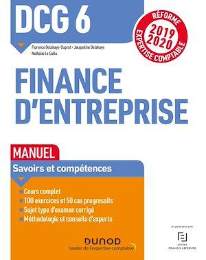 Téléchargez le livre :  DCG 6 Finance d'entreprise - Manuel