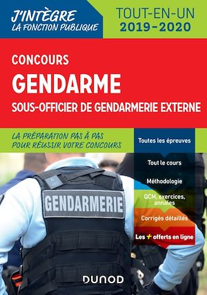 Téléchargez le livre :  Concours Gendarme sous-officier de gendarmerie externe - 4e éd.