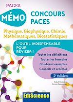 Télécharger le livre :  Mémo Concours PACES - 2éd.