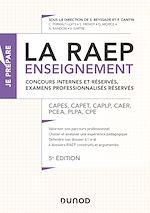 Télécharger le livre :  La Raep enseignement - Concours internes et réservés, examens professionnalisés réservés - 5éd.