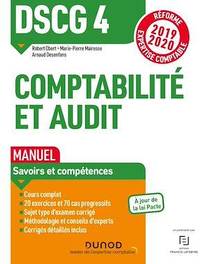 Téléchargez le livre :  DSCG 4 Comptabilité et audit - Manuel