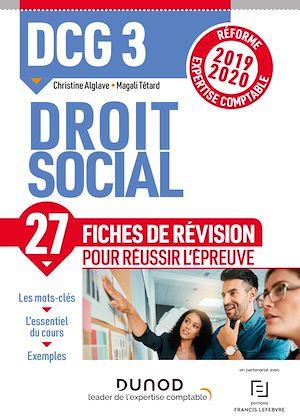 Téléchargez le livre :  DCG 3 Droit social - Fiches de révision