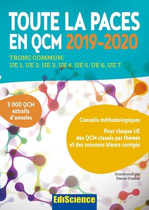 Téléchargez le livre :  Toute la PACES en QCM 2019-2020 - Toute la PACES en QCM 2017-2018