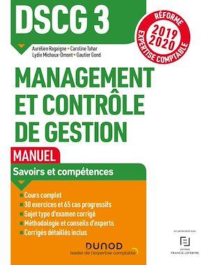Téléchargez le livre :  DSCG 3 Management et contrôle de gestion - Manuel