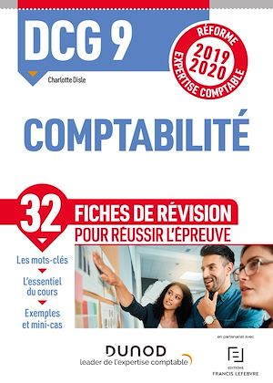 Téléchargez le livre :  DCG 9 Comptabilité - Fiches de révision