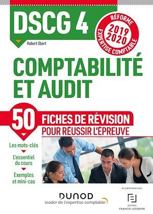 Téléchargez le livre :  DSCG 4 Comptabilité et audit - Fiches de révision