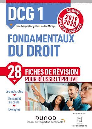 Téléchargez le livre :  DCG 1 Fondamentaux du droit - Fiches de révision