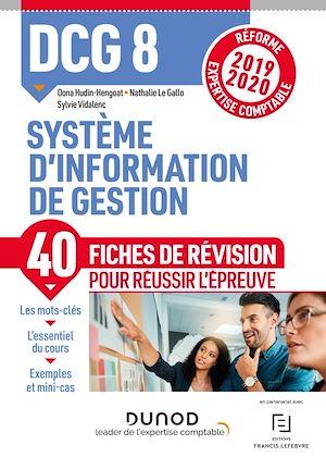 Téléchargez le livre :  DCG 8 Système d'information - Fiches de révision