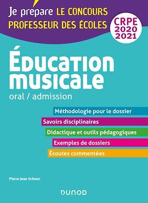 Téléchargez le livre :  Education musicale - Oral / admission - CRPE 2020-2021