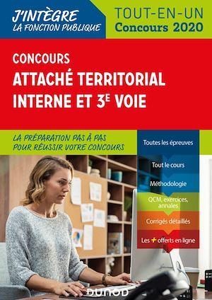 Téléchargez le livre :  Concours Attaché territorial Interne et 3e voie