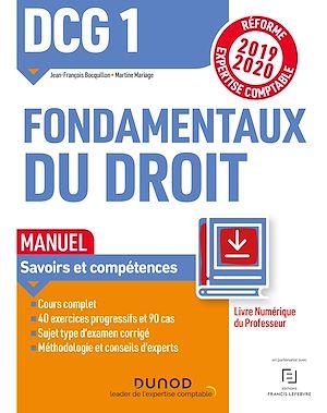 Téléchargez le livre :  DCG 1 Fondamentaux du droit - Manuel - Livre Numérique Professeur