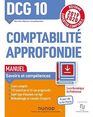 Téléchargez le livre :  DCG 10 Comptabilité approfondie - Manuel - Livre Numérique Professeur
